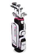 Callaway Solaire 2016 grafit ružový dámsky kompletný golfový set