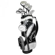 Callaway Solaire Gems grafit čierny dámsky kompletný golfový set