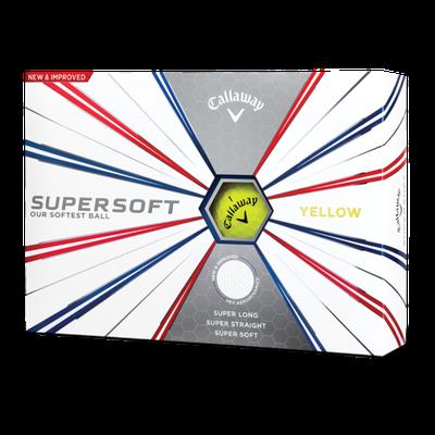 Callaway Supersoft yellow 12ks lopty
