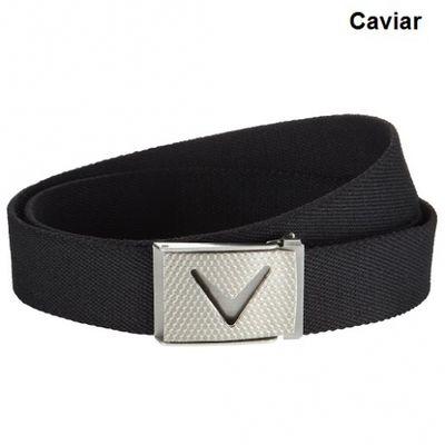 Callaway Webbed Chev Belt caviar opasok