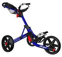 Clicgear 3.5+ vozík modrý/čierne kolieska