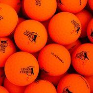 LINKS CHOICE NEW MATTE ORANGE BALLS 1KS