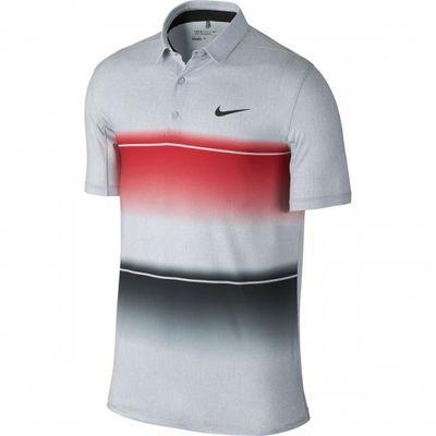 Nike Mobility Stripe University Red/Wolf Gray pánske tričko