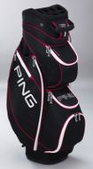 Ping Frontier Cart Bag black/white/red
