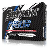 Srixon AD333 Tour pure white 2018 12ks lopty