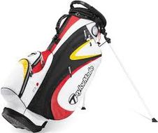 TaylorMade Purelite 2.0 Stand bag black/red/white