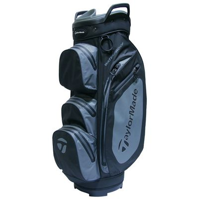 TaylorMade Waterproof Cart Bag 2018 Black/grey