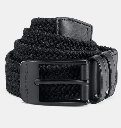 Under Armour Men Braided Belt 2.0 Black - Golfové palice c2ebc965a64
